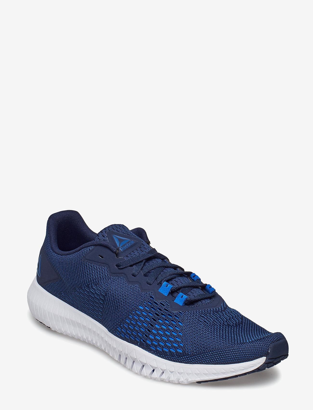 Reebok Performance - REEBOK FLEXAGON - training shoes - navy/blue/wht/blue