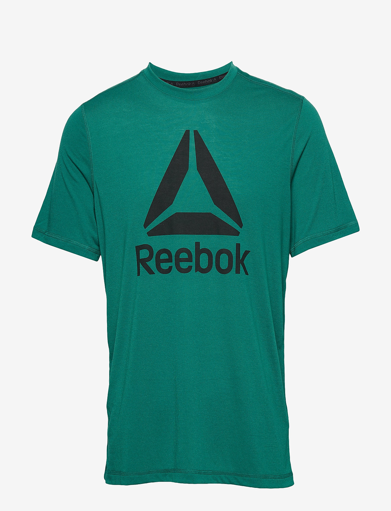 Reebok Performance WOR SUP GRAPHIC SS TEE - T-shirts CLOGRN uDOFgklS