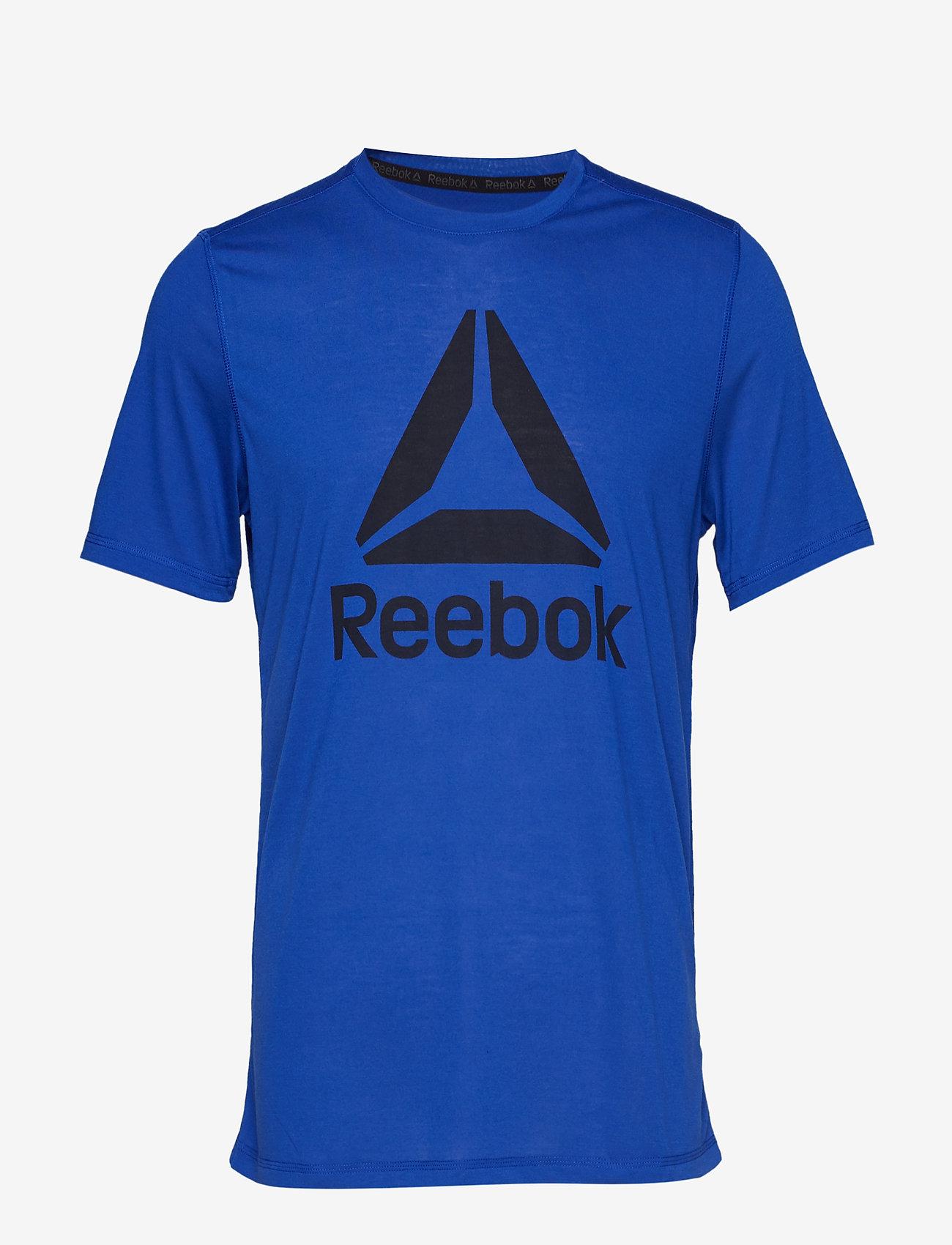 Reebok Performance WOR SUP GRAPHIC SS TEE - T-shirts COBALT QV5S8dDx