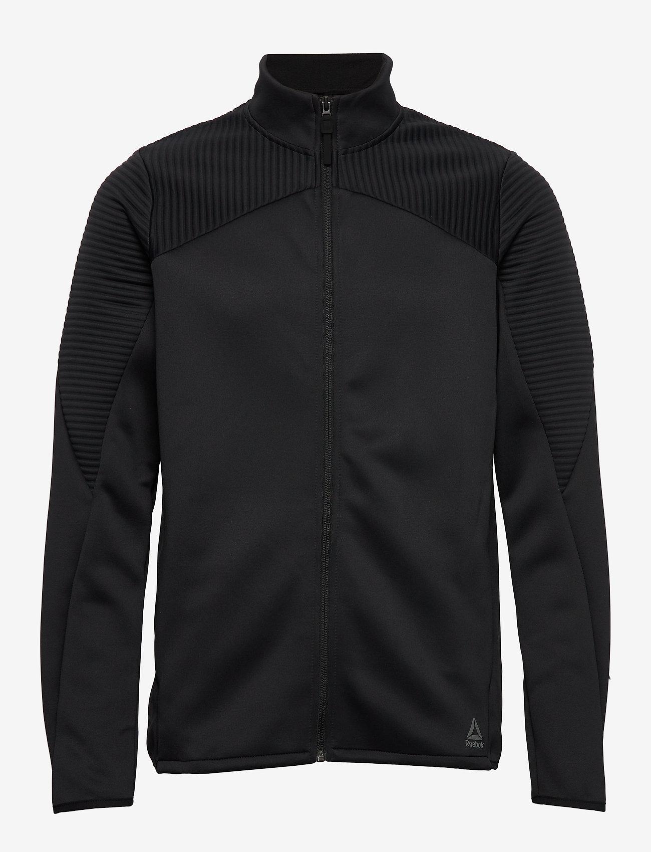 Reebok Performance - ThermoWarm Track Jacket - podstawowe bluzy - black - 1