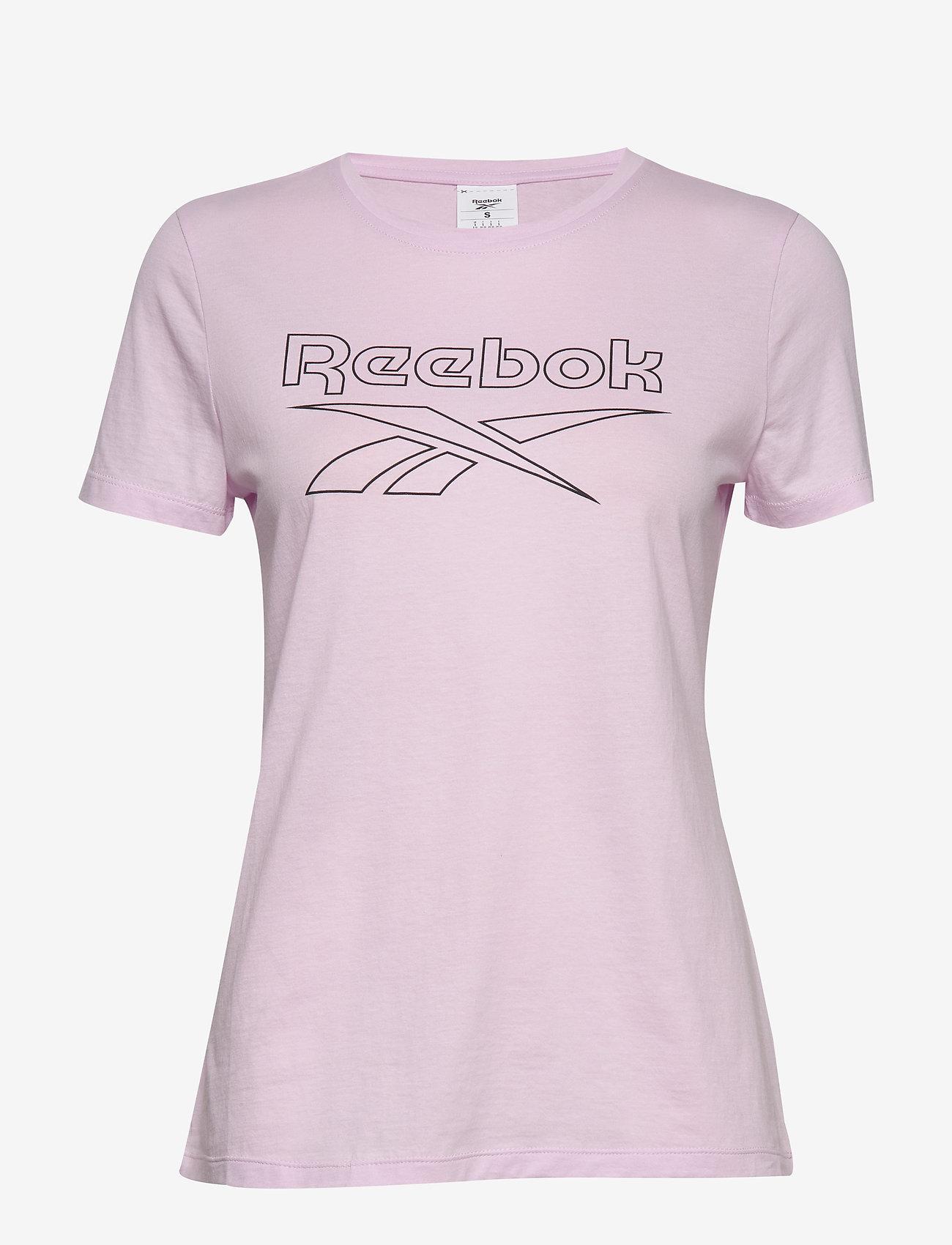 Reebok Performance TE Graphic Tee Delta - T-shirts & Toppe PIXPNK - Dametøj Særtilbud