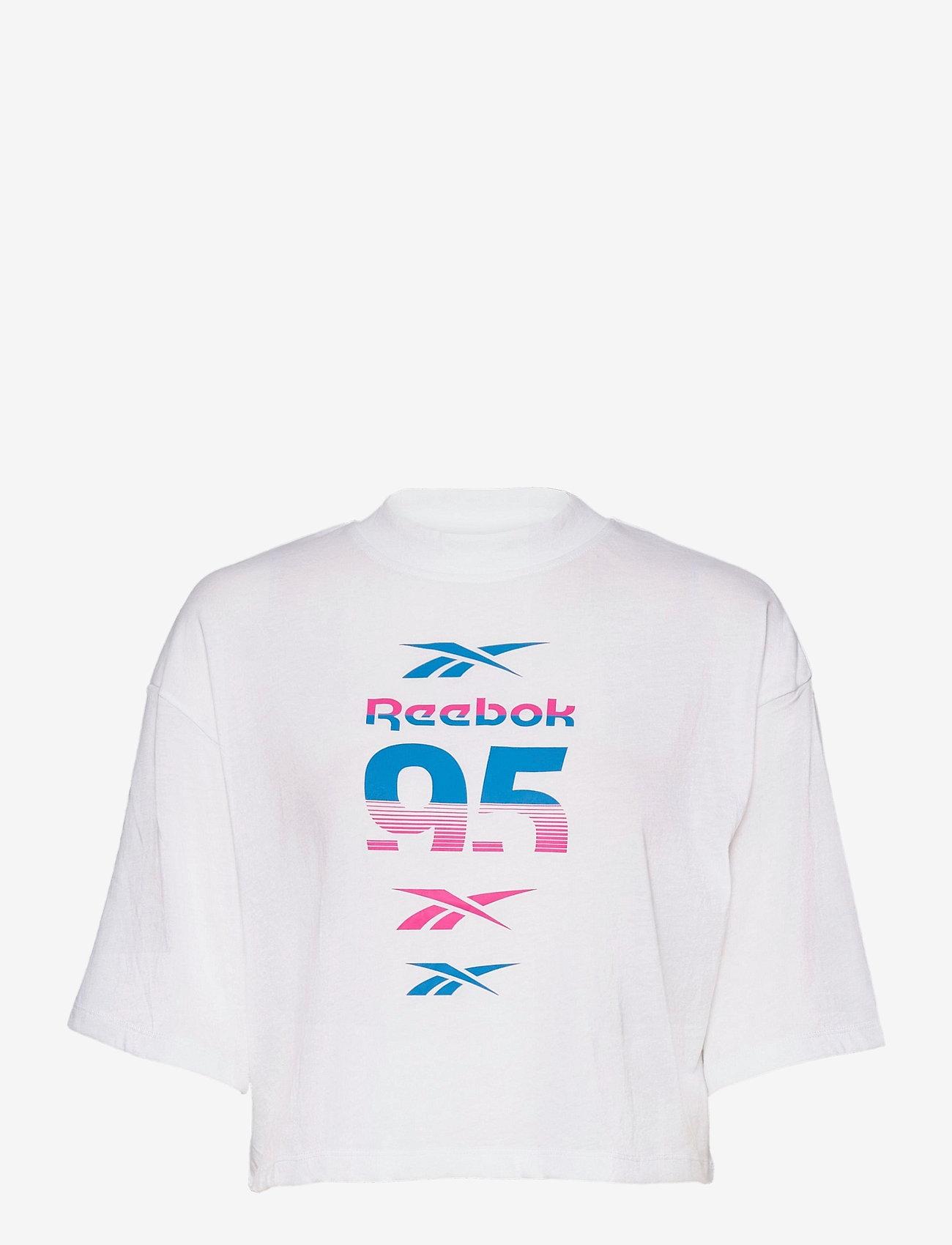Reebok Performance - WOR MYT RBK Graphic Tee - t-paidat - white - 0