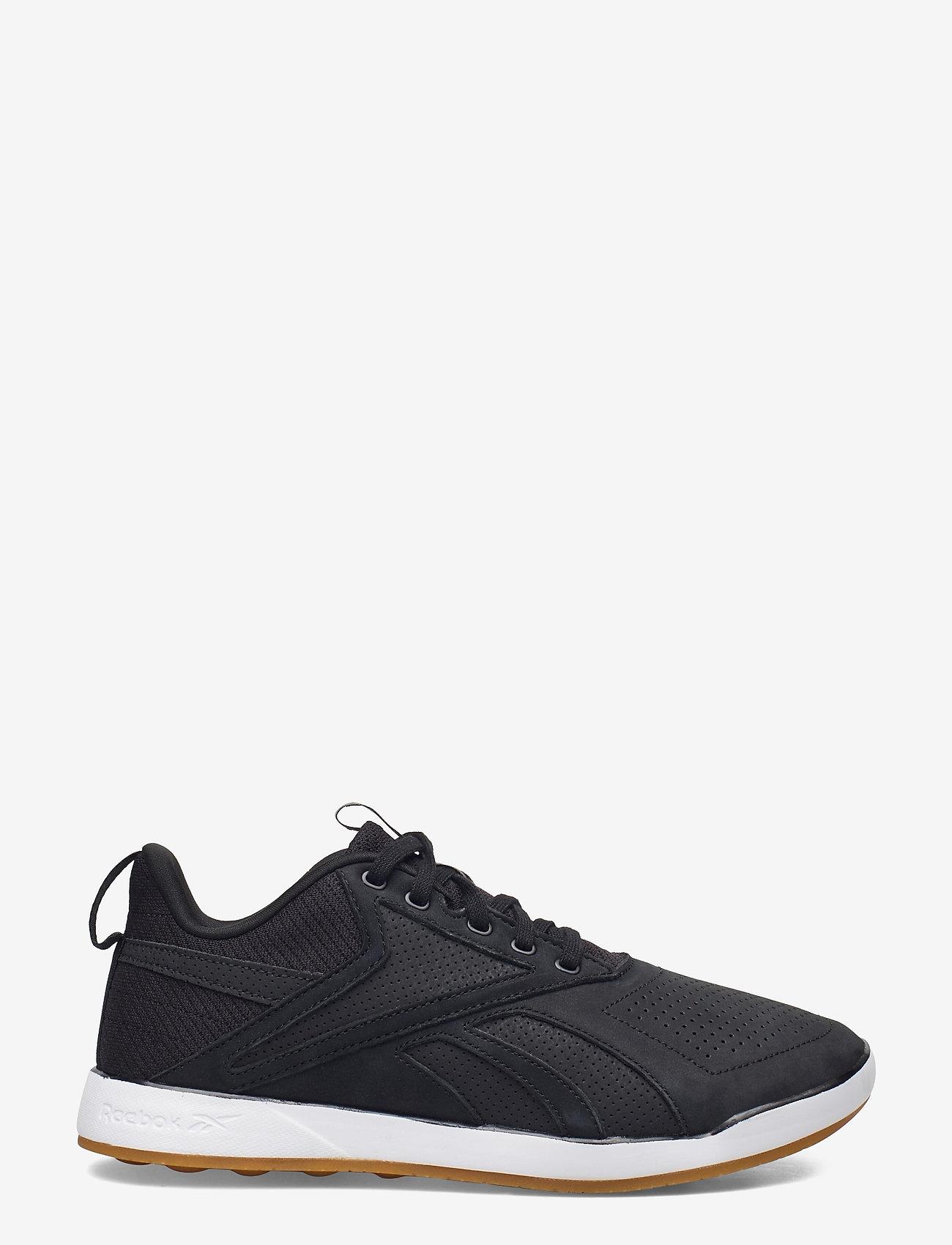 Reebok Performance - Reebok Ever Road DMX 3.0 LTHR - laag sneakers - black/white/rbkle7 - 0