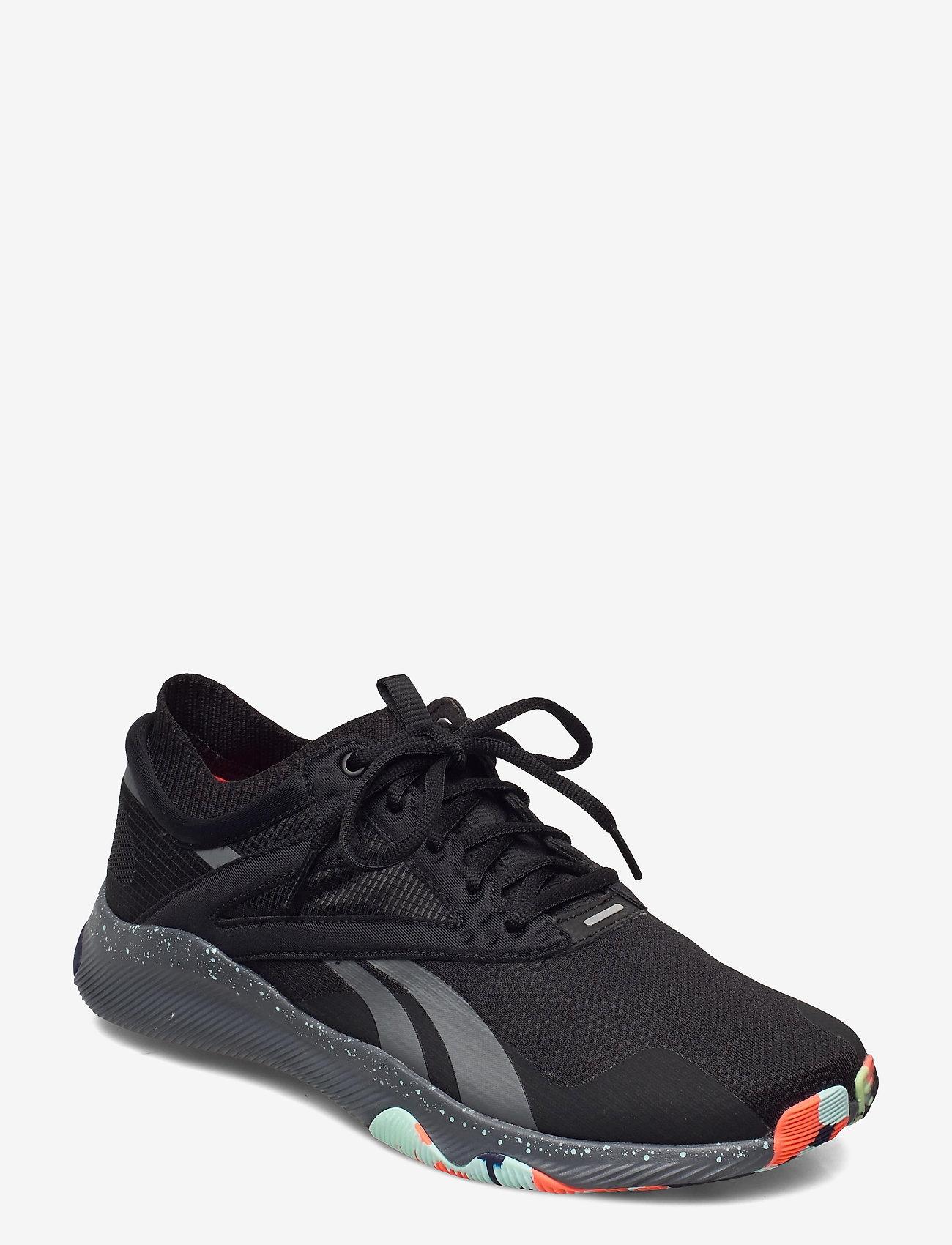 Reebok Performance - Reebok HIIT TR - training shoes - cblack/trugr7/ornflr - 0