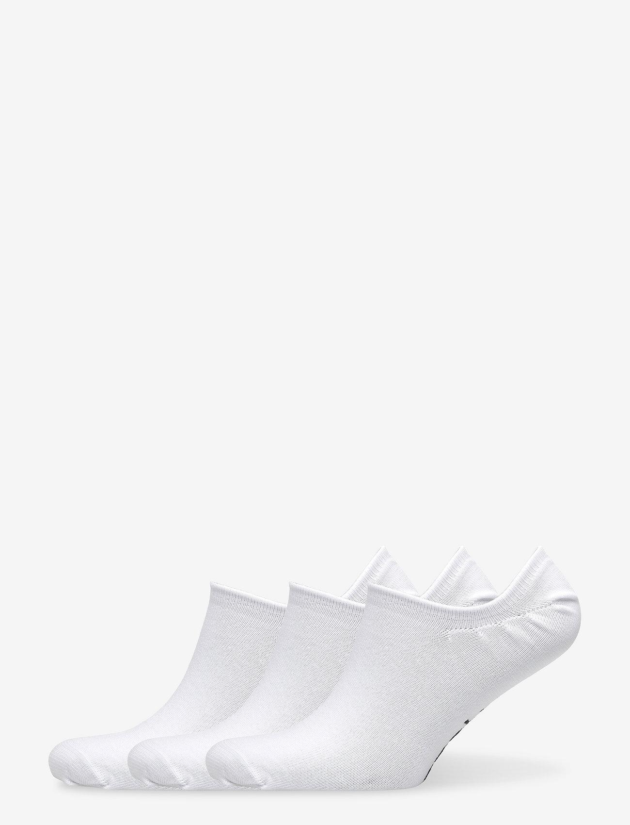 Reebok Performance - TE INVISIBLE SOCK 3P - kousen - white - 0