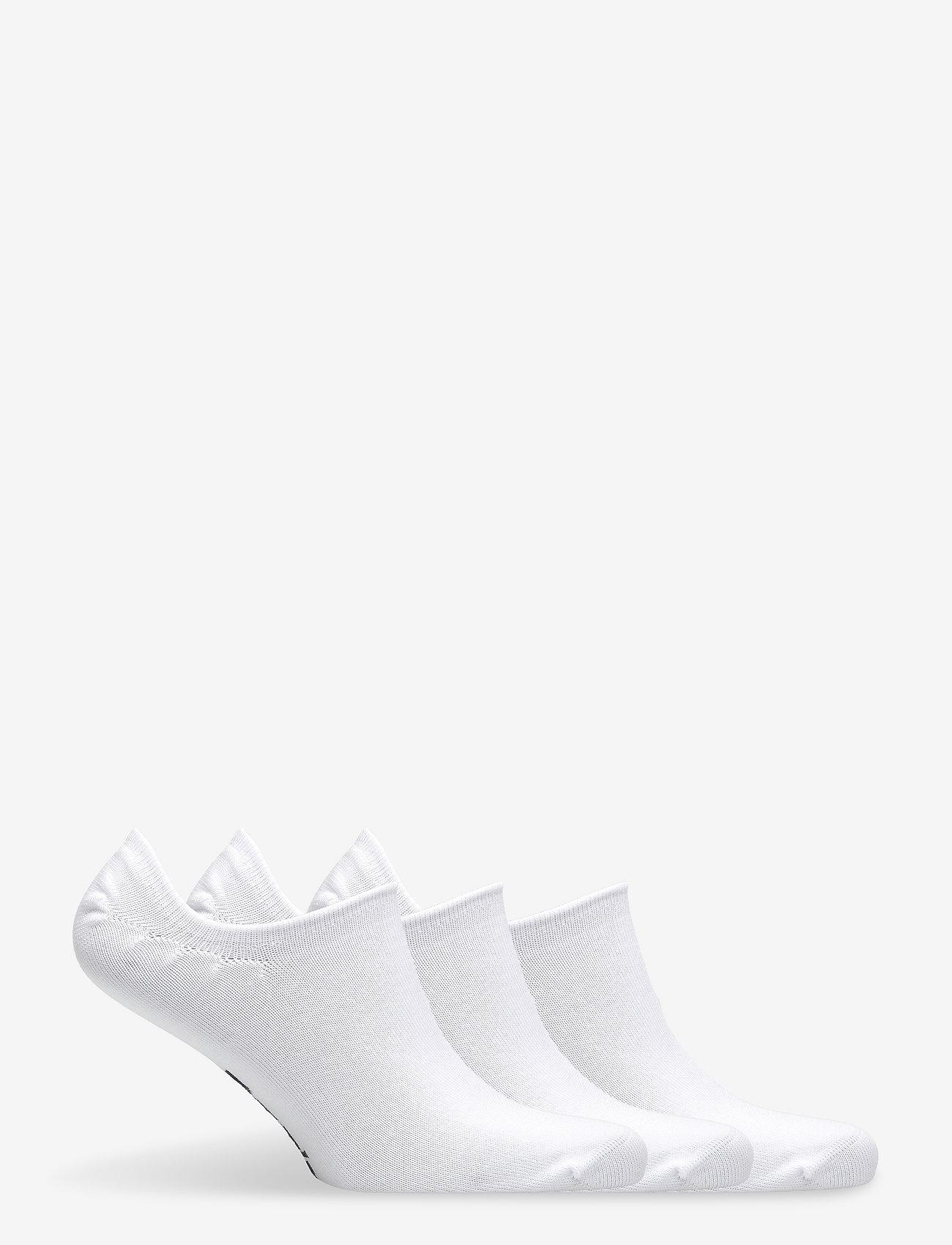 Reebok Performance - TE INVISIBLE SOCK 3P - kousen - white - 1