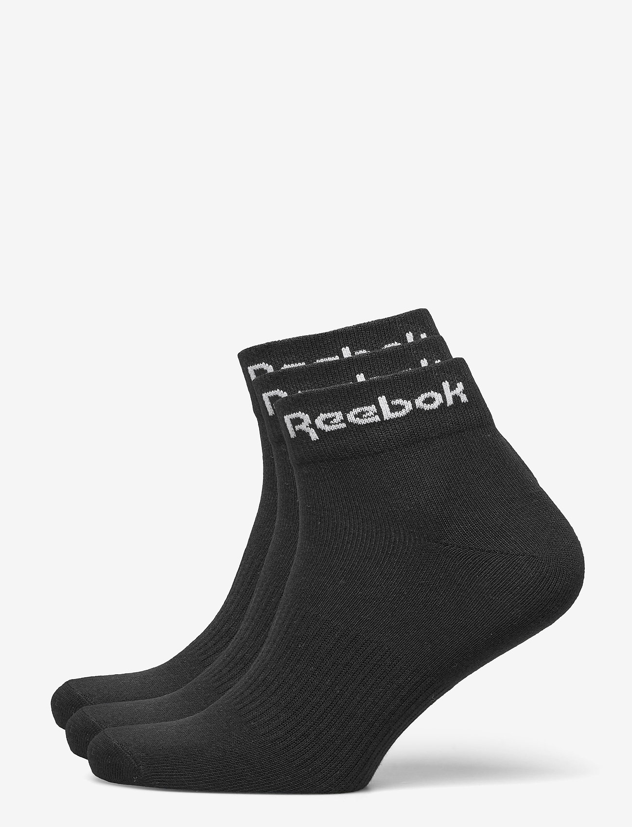 Reebok Performance - ACT CORE ANKLE SOCK 3P - kousen - black - 0
