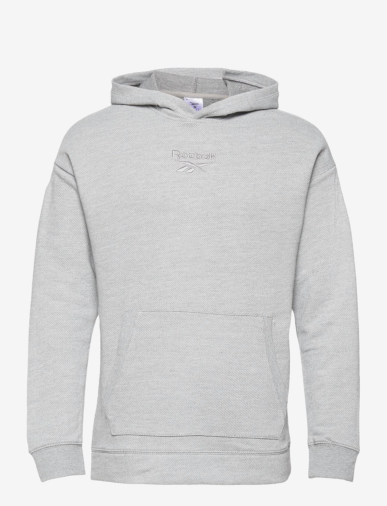 Reebok Performance - Training Essentials Mélange Hoodie - hoodies - mgreyh - 1