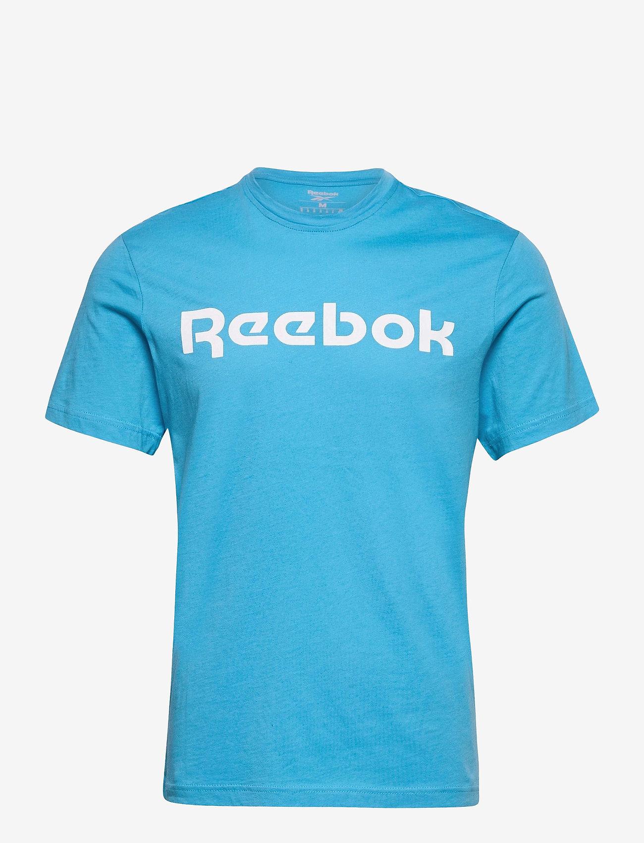 Reebok Performance - Graphic Series Linear Logo T-Shirt - t-shirts - radaqu - 1