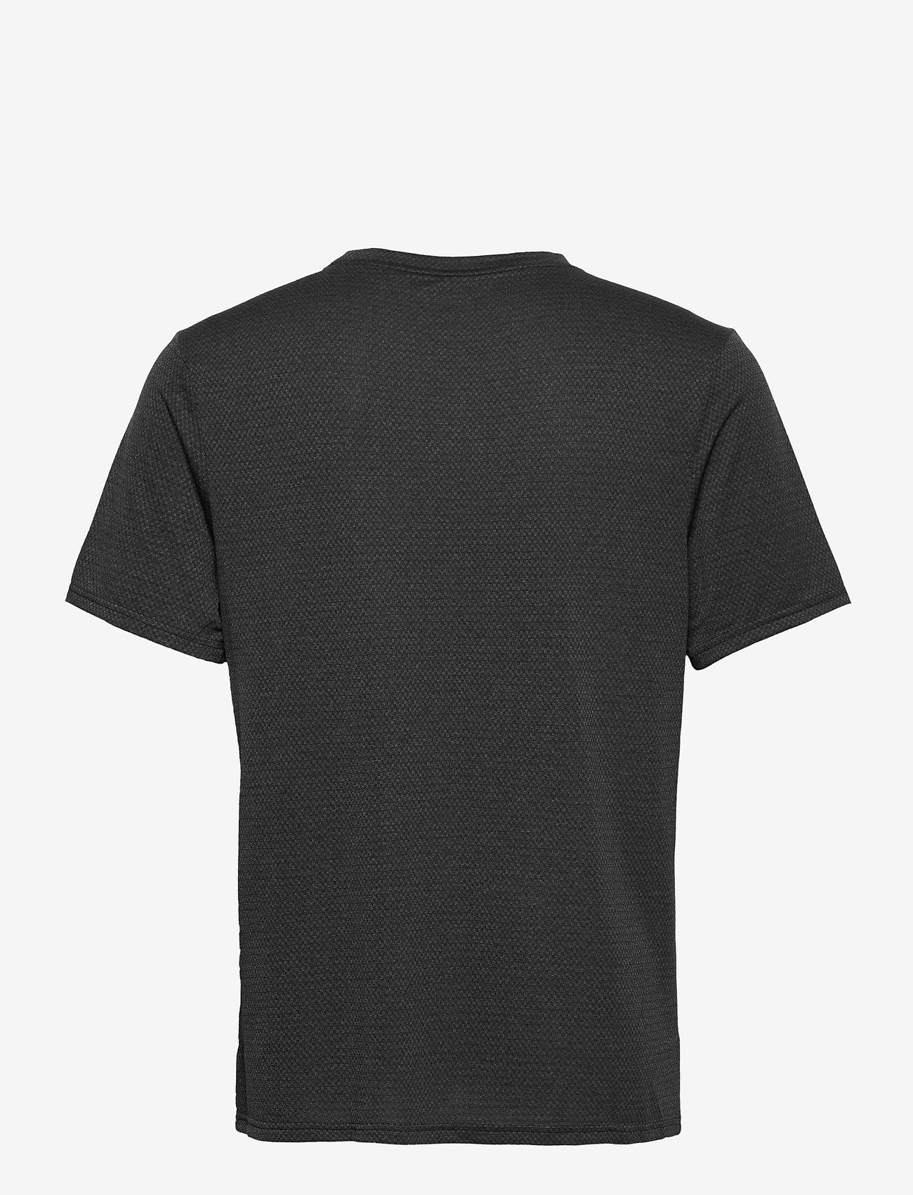 Reebok Performance - Workout Ready Mélange T-Shirt - t-shirts - black - 1