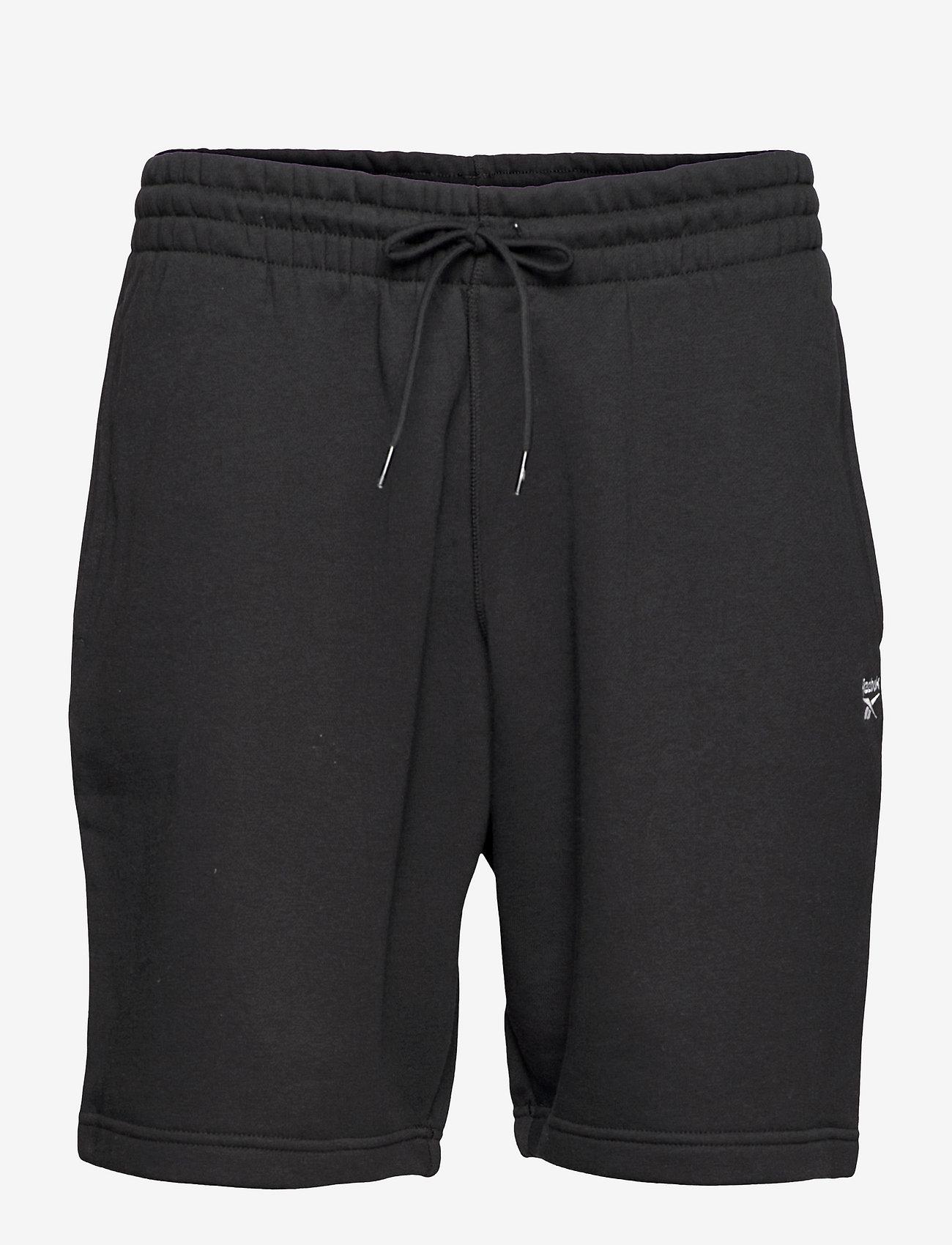 Reebok Performance - RI Fleece SHORT - casual shorts - black - 1
