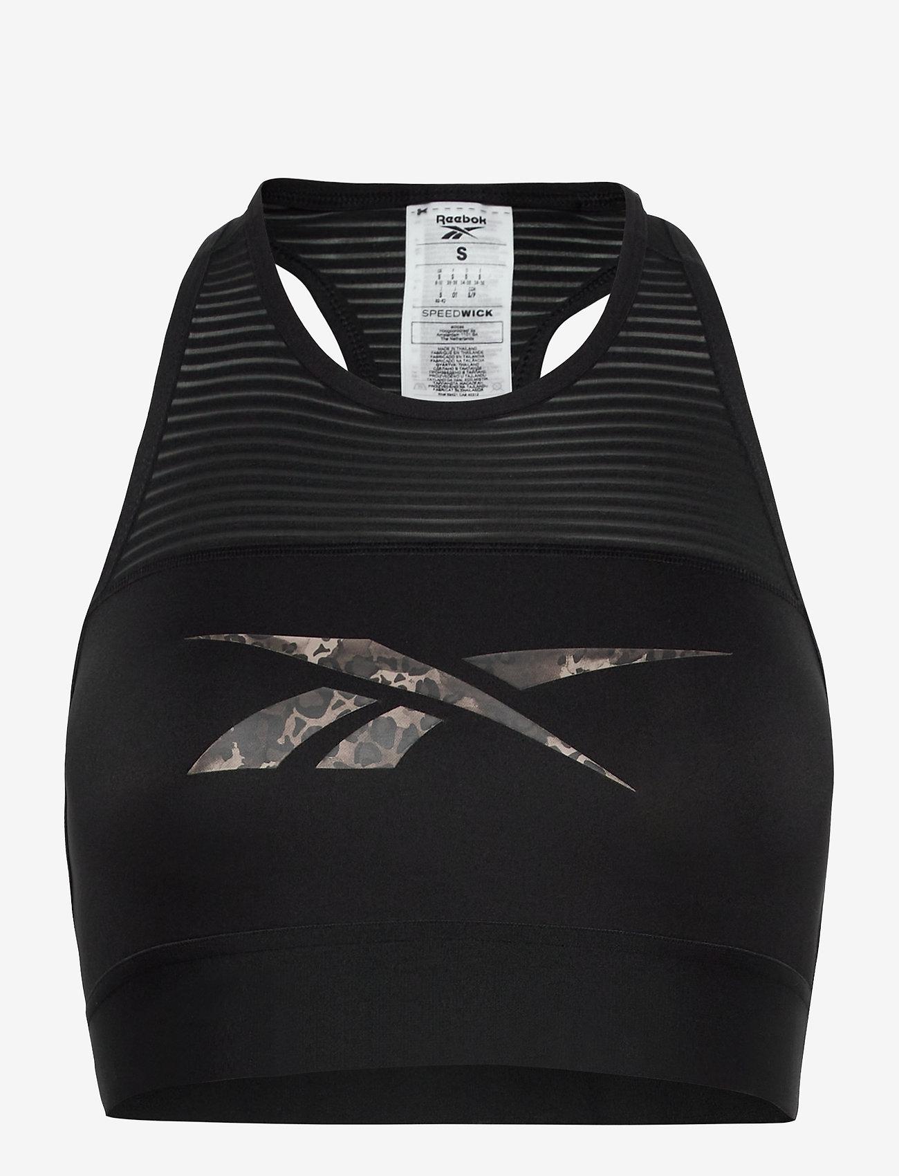Reebok Performance - Modern Safari Sports Bra W - sportbeh''s: low - black/hypprl - 1