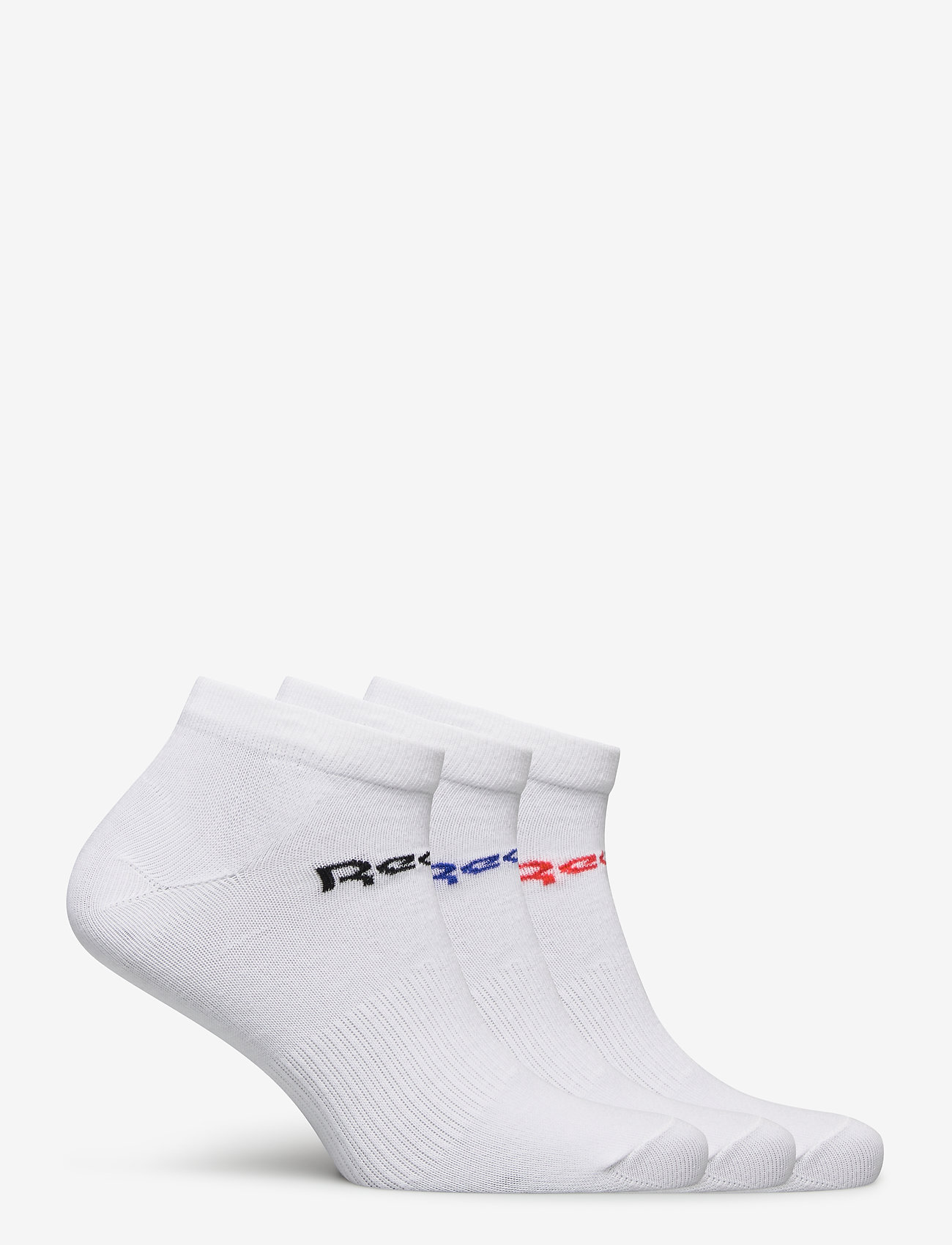 Reebok Performance - ACT CORE LOW CUT SOCK 3P - kousen - white/dynred - 1