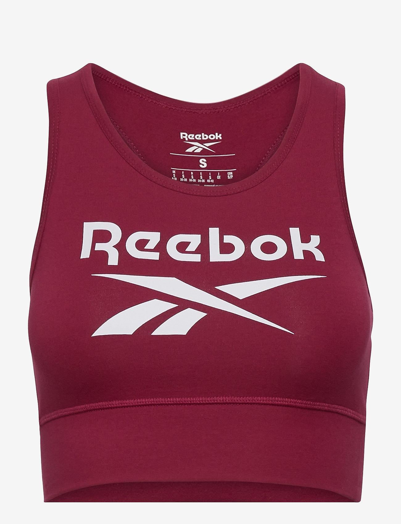 Reebok Performance - RI BL Cotton Bralette - soft bras - punber - 1