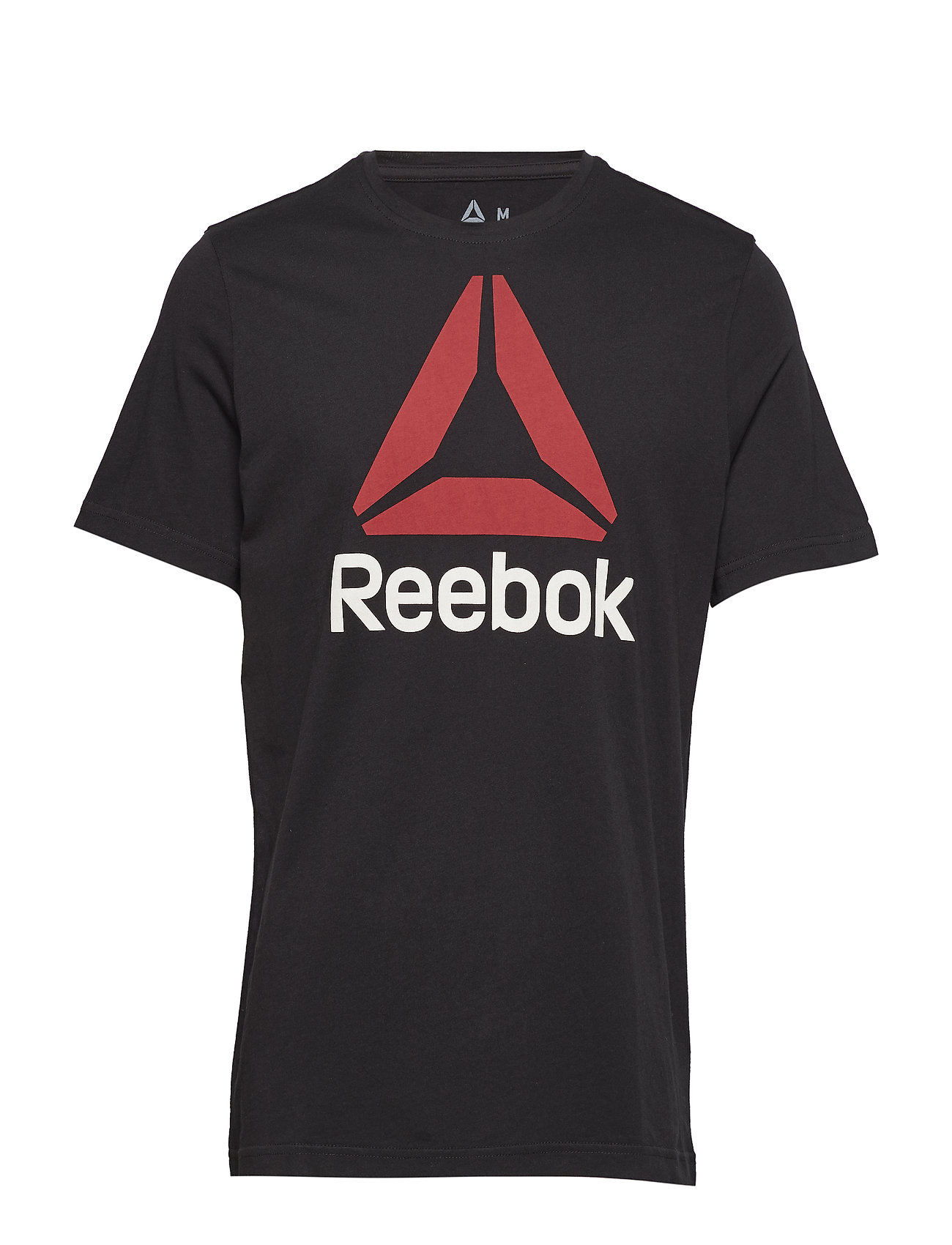 Reebok Performance QQR- Reebok Stacked - BLACK/EXCRED