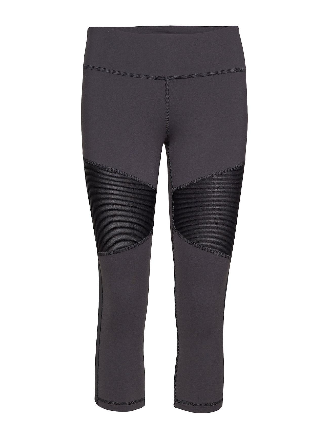 Reebok Performance C Lux 3/4 Tight- RIbbed - BLACK