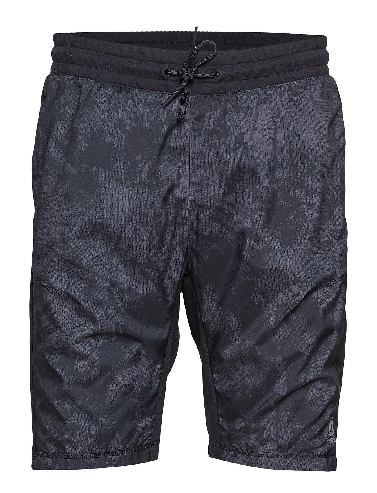 Reebok Performance TE Knit-Woven Short - BLACK