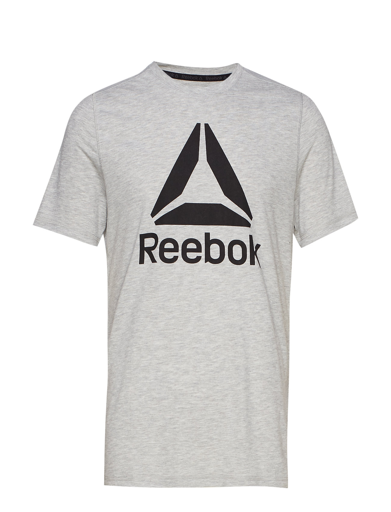 Reebok Performance WOR SUP GRAPHIC SS TEE - MGREYH
