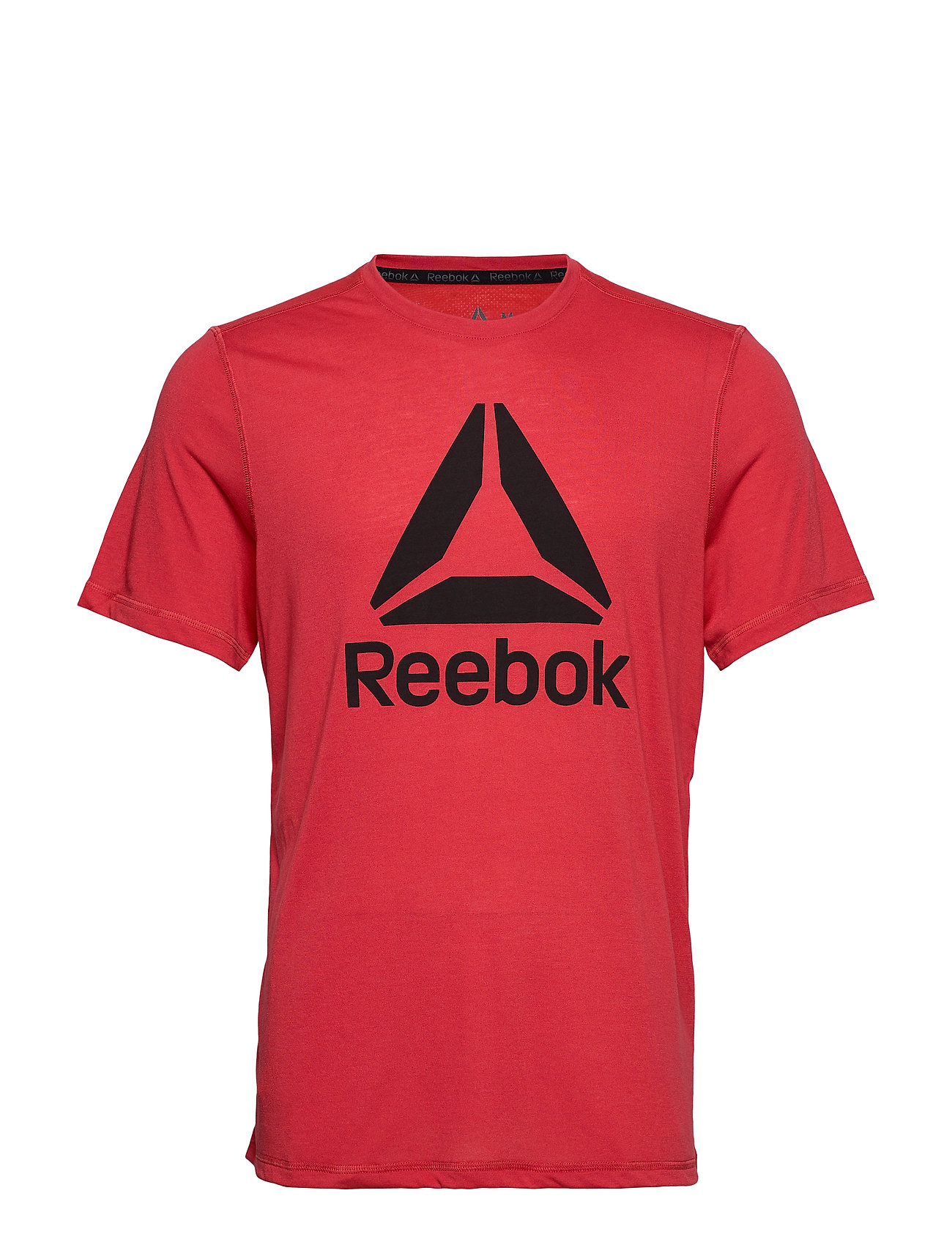 Reebok Performance WOR SUP GRAPHIC SS TEE - REBRED