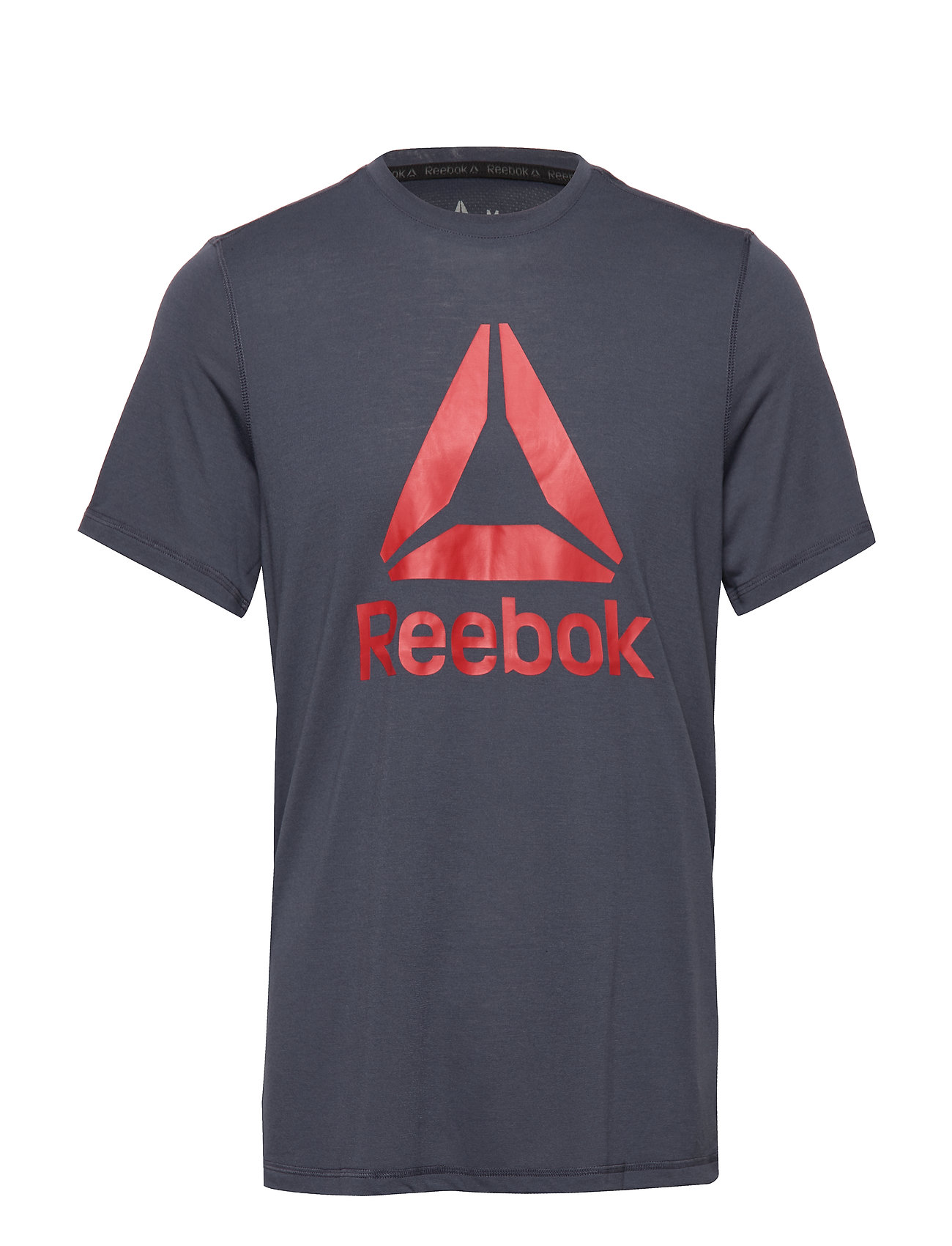 Reebok Performance WOR SUP GRAPHIC SS TEE - HERNVY