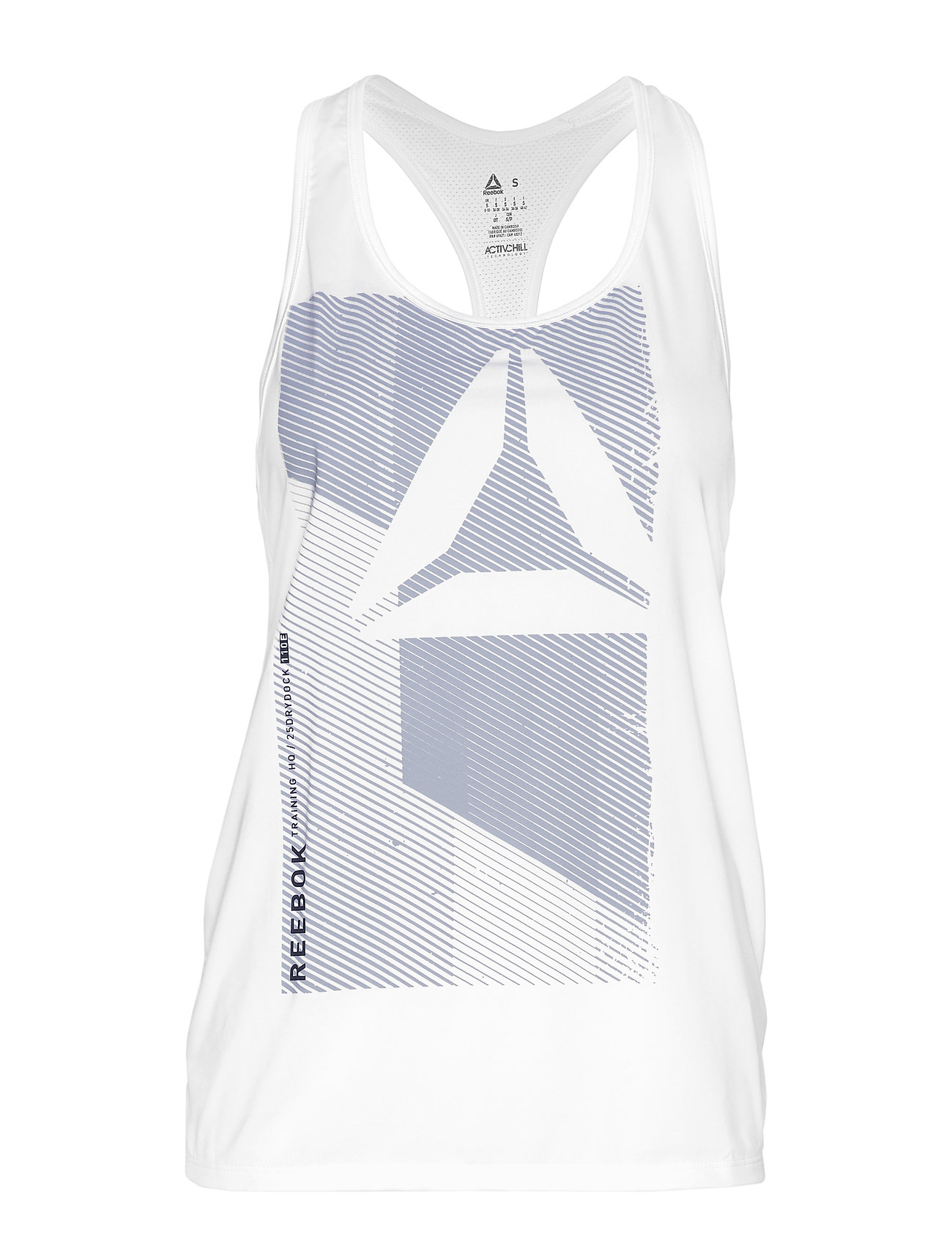 Reebok Performance OST AC GRAPHIC TANK - WHITE