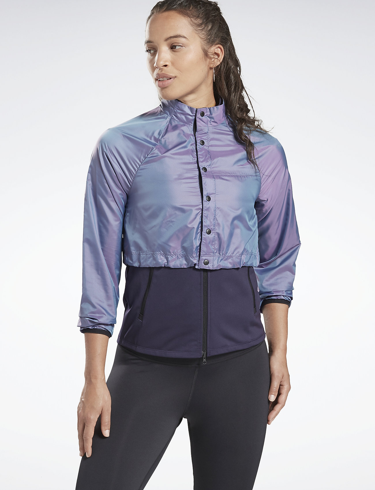Reebok Performance - OSR NR CONVERT JACKET - training jackets - prpdel - 0