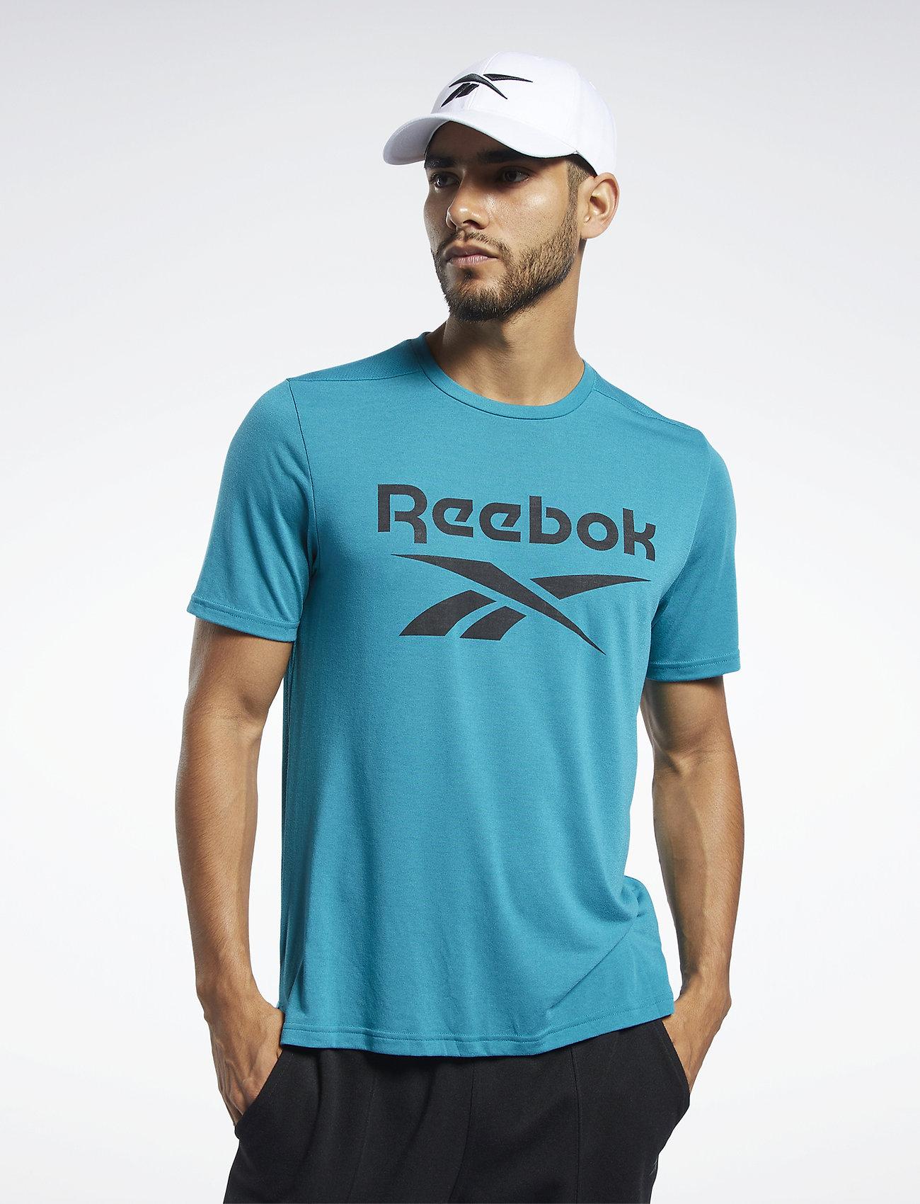 Reebok Performance Workout Ready Supremium Graphic Tee - T-shirts SEATEA Bkmo6F9T