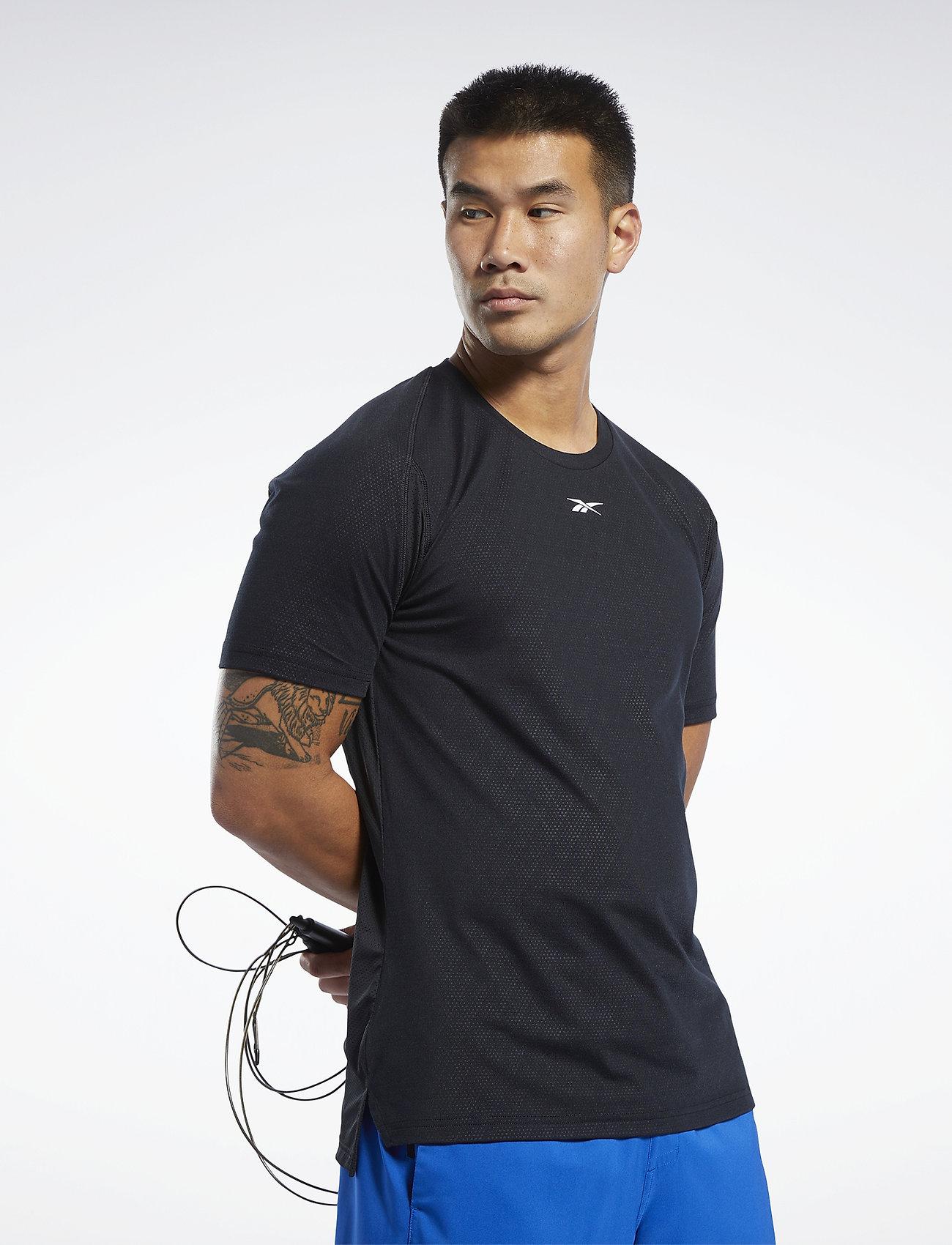 Reebok Performance TS SmartVent Tee - T-shirts BLACK M5NWhEjU