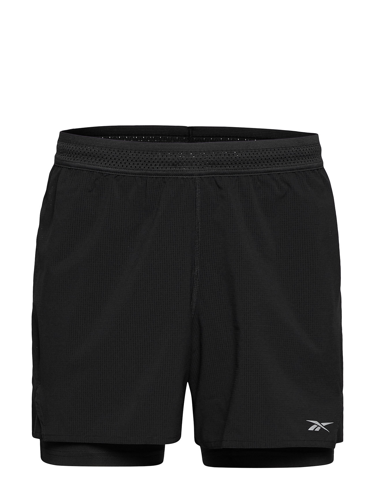 Reebok Performance OSR EPIC 2-1 RUN SHORT - BLACK