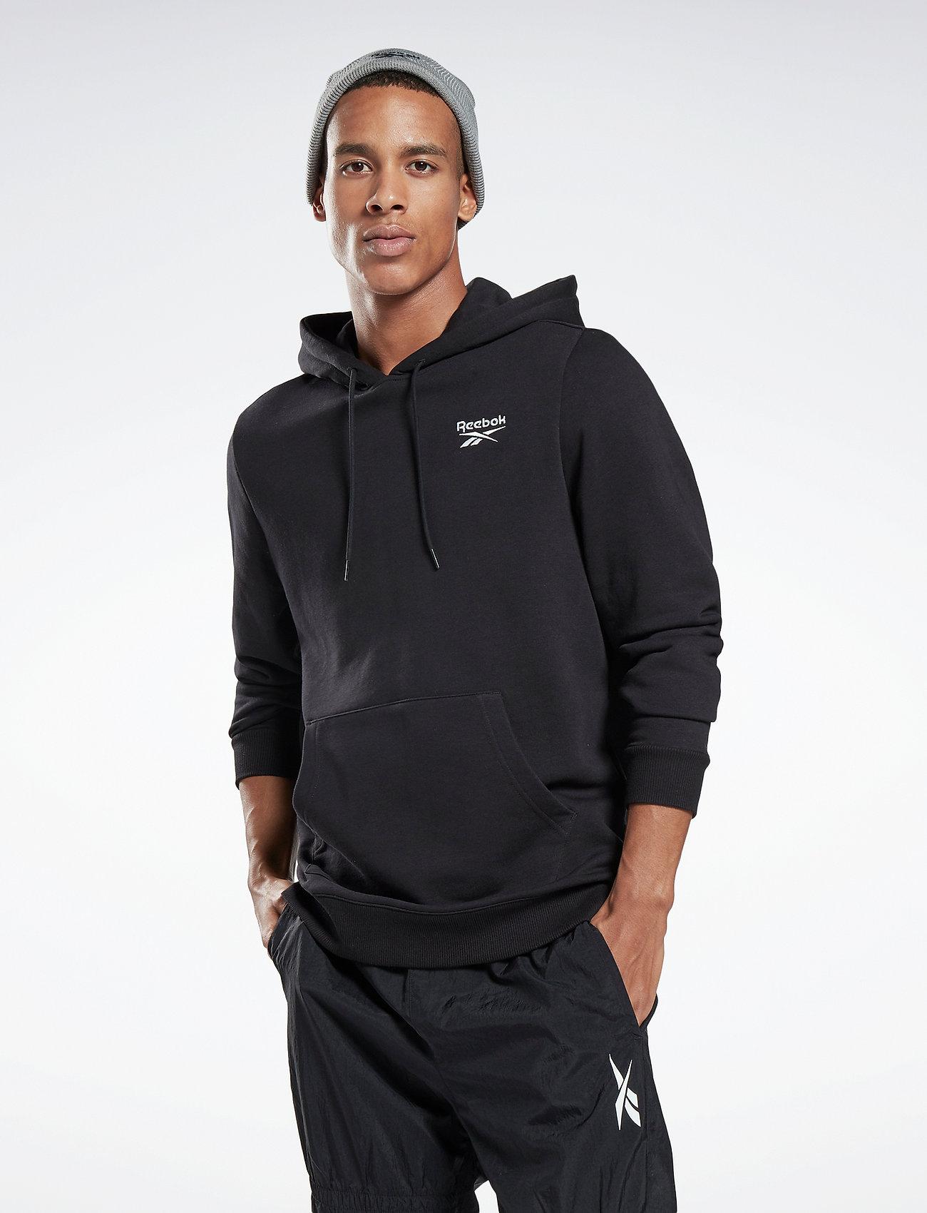 Reebok Performance - Identity Hoodie - hoodies - black - 0