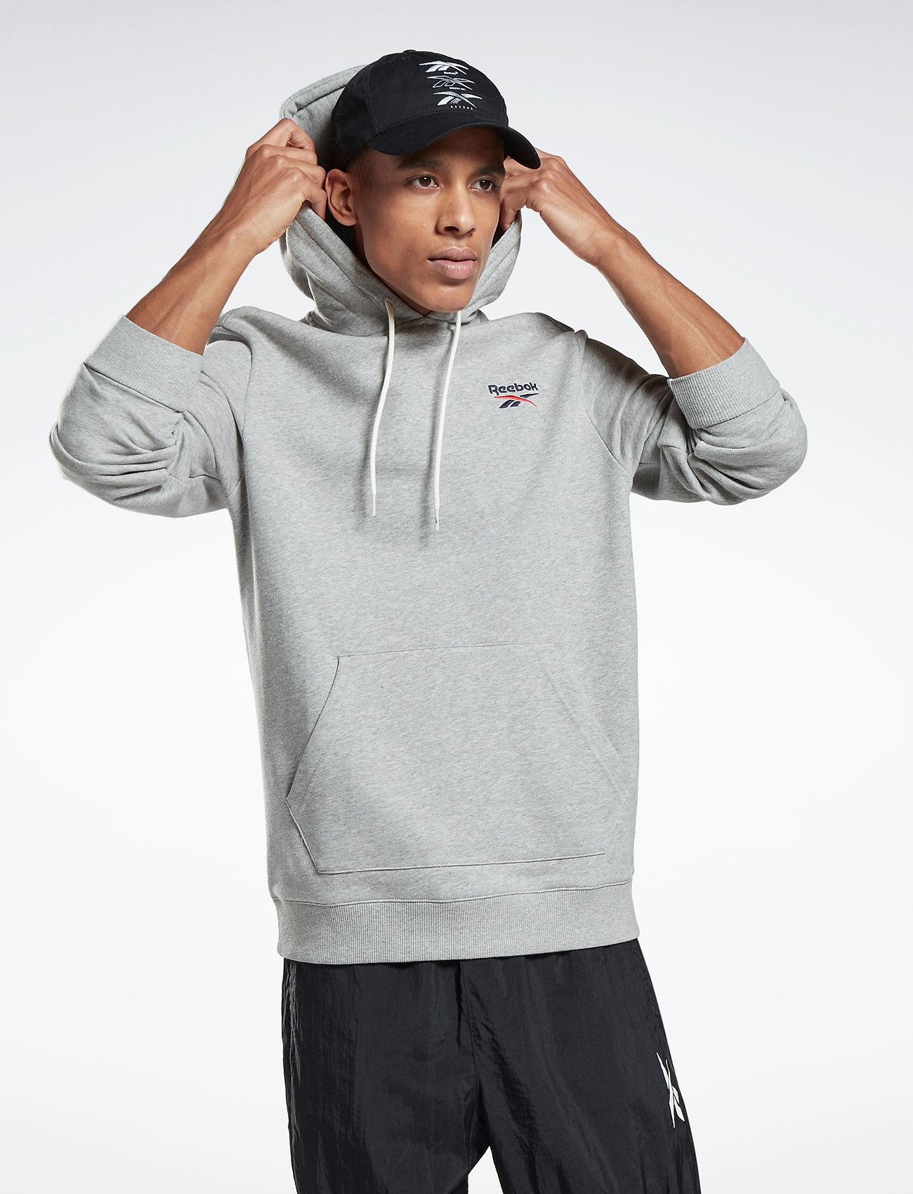 Reebok Performance - Identity Hoodie - hoodies - mgreyh - 0