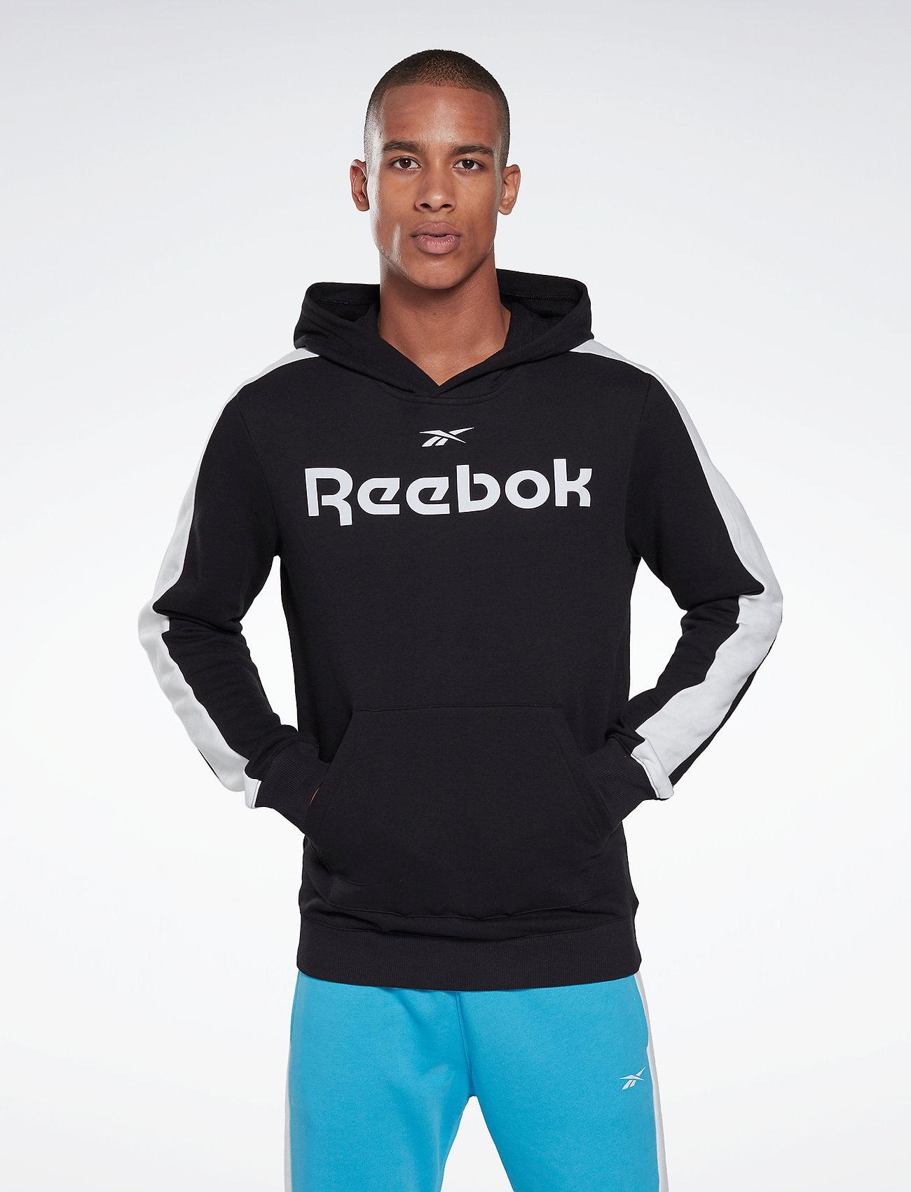 Reebok Performance - Training Essentials Linear Logo Hoodie - hoodies - black - 0