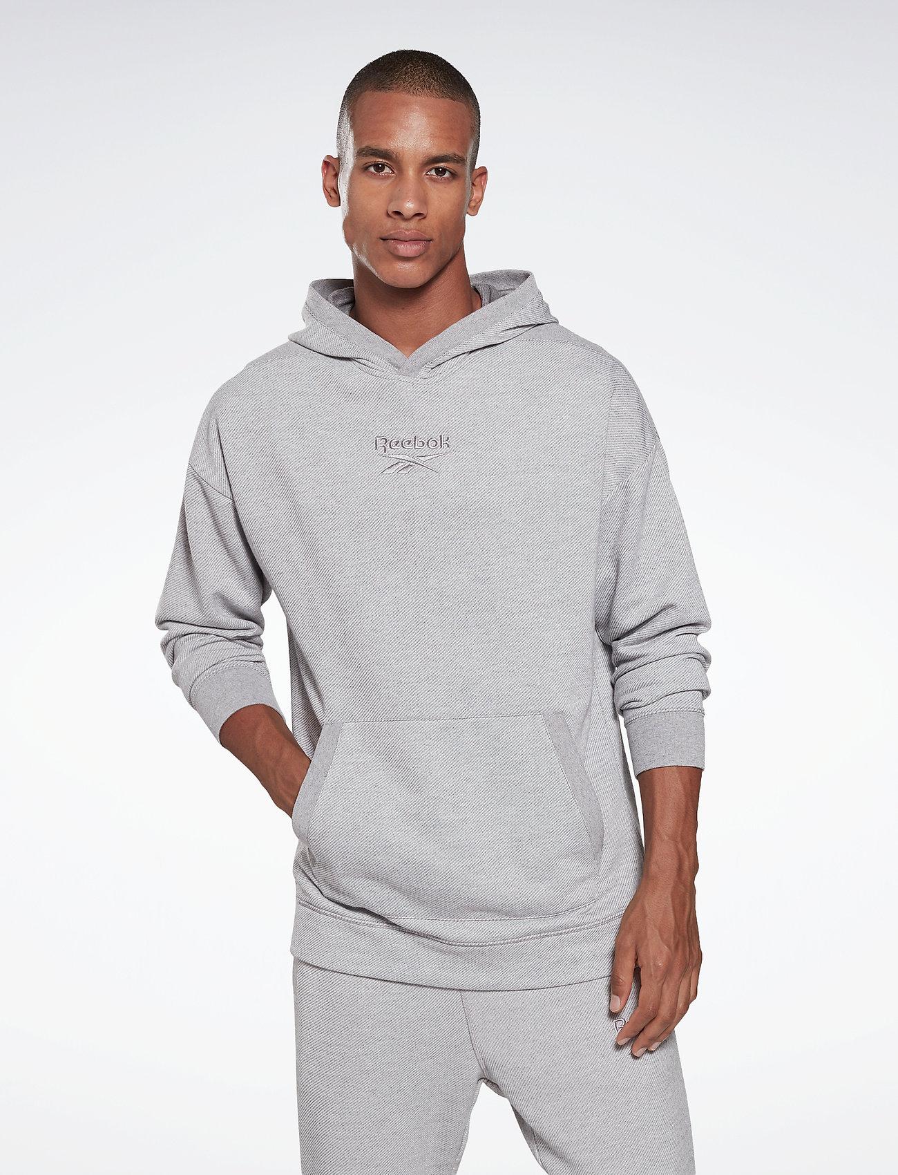 Reebok Performance - Training Essentials Mélange Hoodie - hoodies - mgreyh - 0