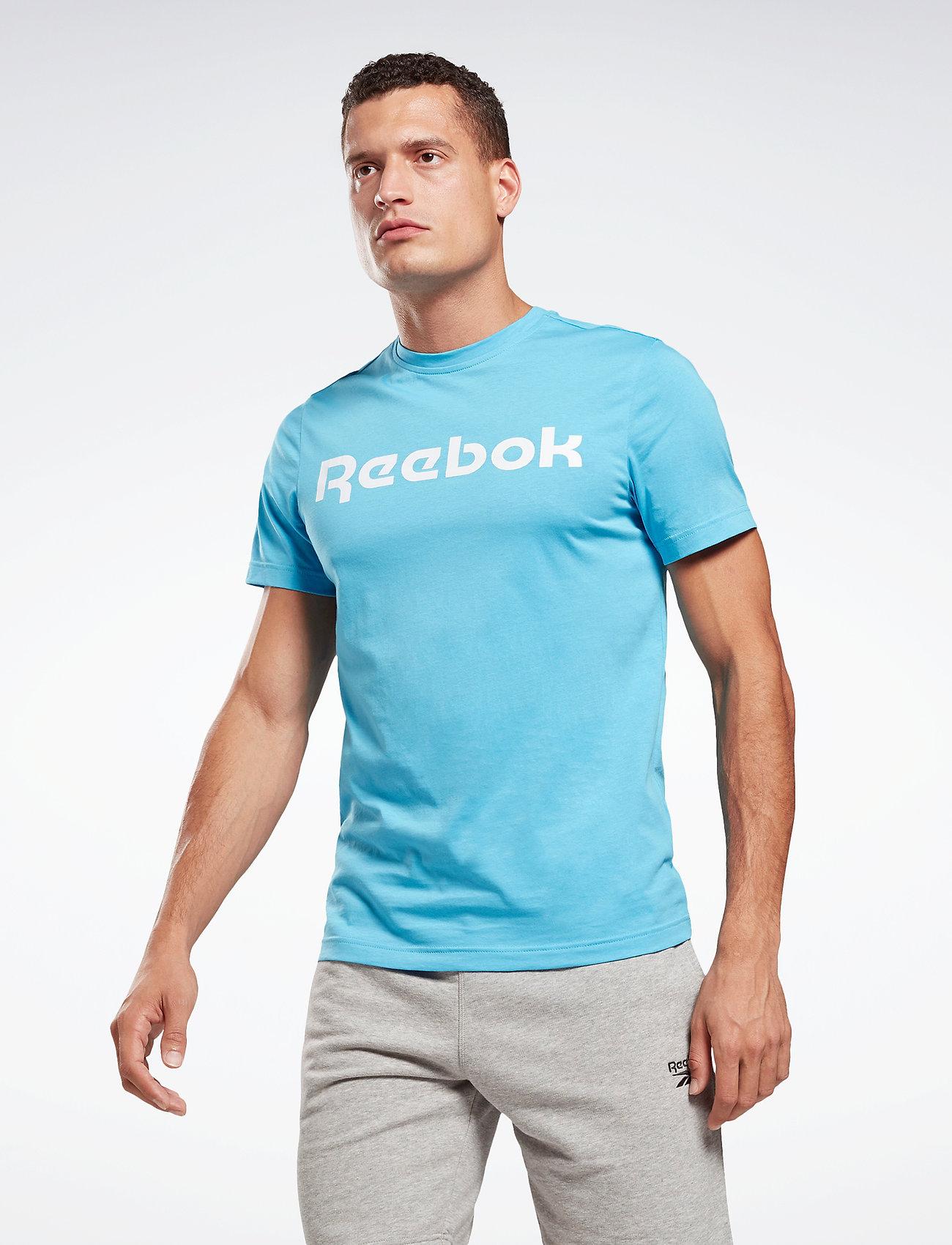 Reebok Performance - Graphic Series Linear Logo T-Shirt - t-shirts - radaqu - 0