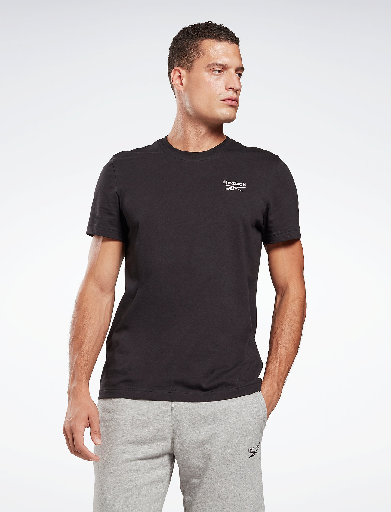 Reebok Performance - RI CLASSIC TEE - t-shirts - black - 0