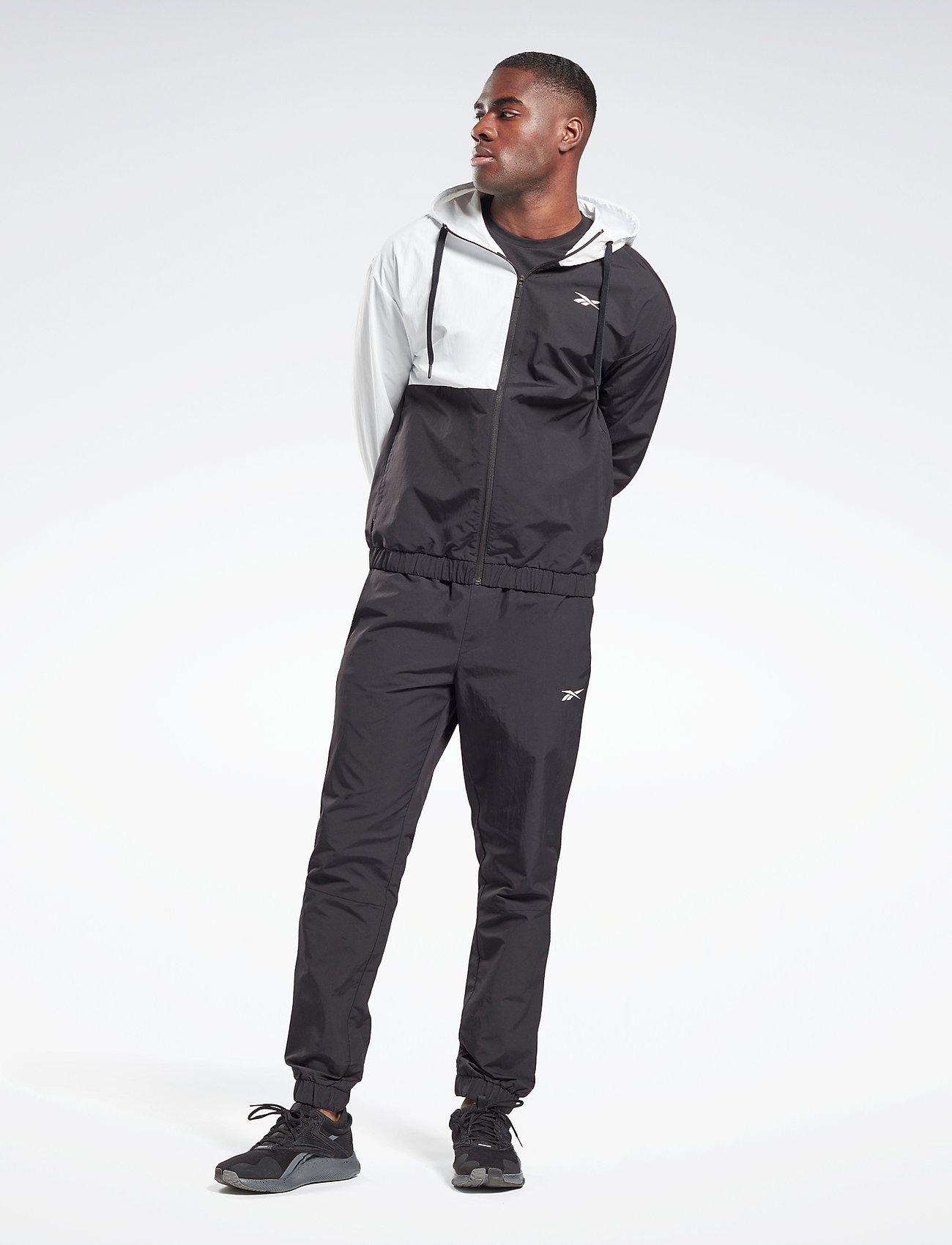 Reebok Performance - Woven Track Suit - dresy - black - 0