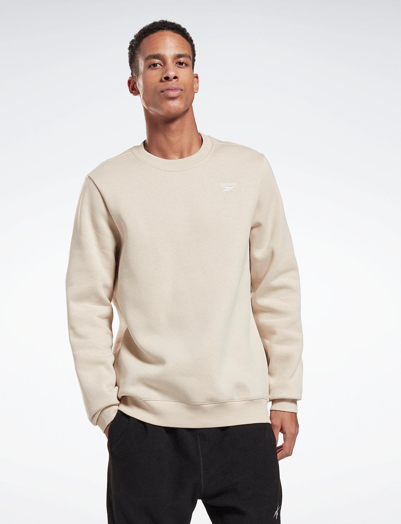 Reebok Performance - RI Fleece Crew - sweaters - stucco - 0