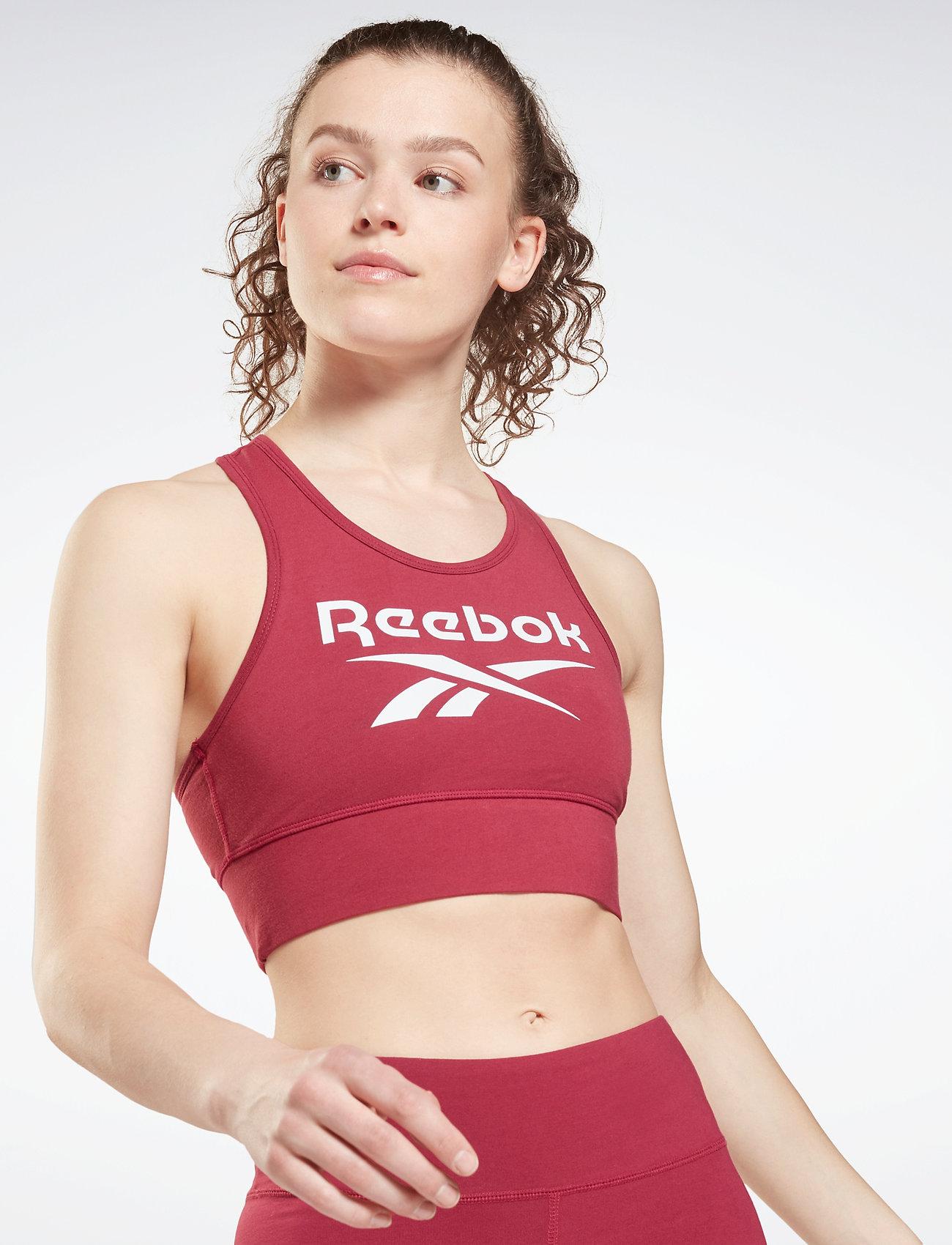 Reebok Performance - RI BL Cotton Bralette - soft bras - punber - 0