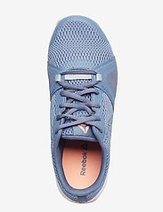 Reebok Performance - REEBOK FLEXILE - training shoes - blue/grey/pink/white - 3