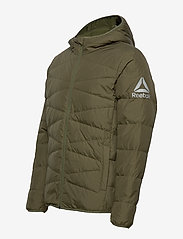 Reebok Performance - CN M LT DOWN JKT2 - sports jackets - armygr/armygr - 4