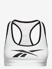 Reebok Performance - S Hero Racer Pad Bra-Read - sport bras: medium - white - 1