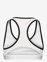 Reebok Performance - S Hero Racer Pad Bra-Read - sport bras: medium - white - 2