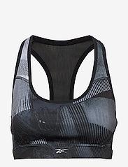 Reebok Performance - RE RACER BRA P - sports bras - black - 1
