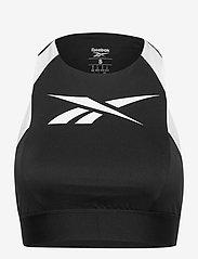 Reebok Performance - WOR Mesh Bralette - sort bras:high - black - 1