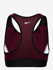 Reebok Performance - WOR MYT AOP Racer Bra - sort bras:high - maroon - 2