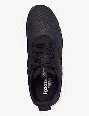 Reebok Performance - Reebok Ever Road DMX 3.0 LTHR - laag sneakers - black/white/rbkle7 - 3