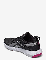 Reebok Performance - MEGA FLEXAGON - training shoes - black/white/propnk - 2