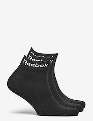 Reebok Performance - ACT CORE ANKLE SOCK 3P - kousen - black - 1