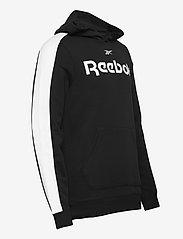 Reebok Performance - Training Essentials Linear Logo Hoodie - hoodies - black - 4