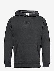 Reebok Performance - Training Essentials Mélange Hoodie - hoodies - black - 1